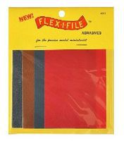 Flex-I-File Flex-I-File Assorted Abrasive Sheet Set (8)