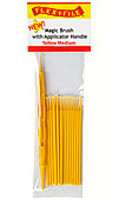Flex-I-File Magic Brushes Yello Medium
