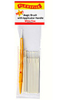 Flex-I-File Magic Brushes White Fine