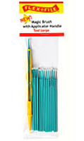 Flex-I-File Magic Brushes Teal Large