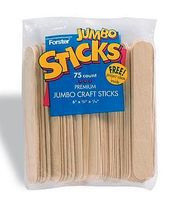 Forster Jumbo Craft Sticks (75/Bag)