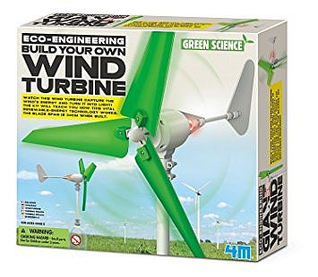 4M Project Kits Build Your Own Wind Turbine Kit