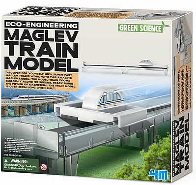 4M-Projects MagLev Magnetism Train Model Kit w/Track