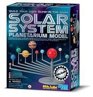 4M-Projects Glow-in-the-Dark Solar System Planetarium Model Kit