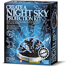 4M Project Kits Create A Night Sky Projection Kit -- Astronomy Kit -- #3440