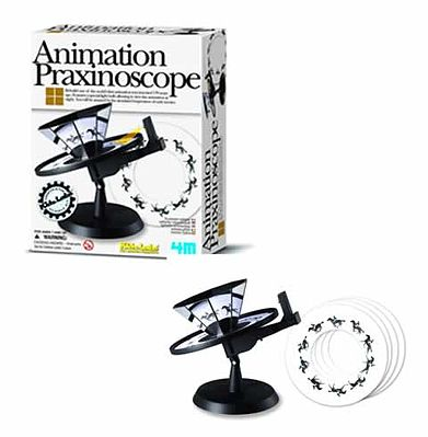 4M Project Kits Animation Praxinoscope Kit -- Science Engineering Kit -- #3474