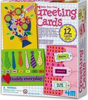 4M-Projects Make Your Own Greeting Cards Kit Drawing Kit #3623
