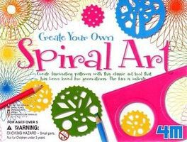 4M-Projects Create Your Own Spiral Art Kit Drawing Kit #3634