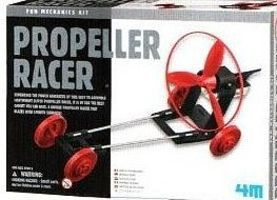 4M-Projects Propeller Racer Kit Science Engineering Kit #3637