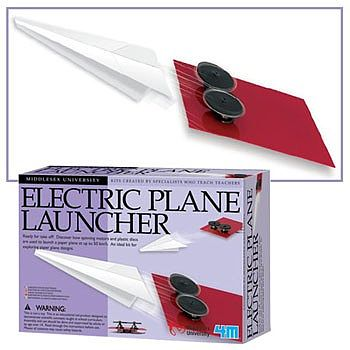 4M Project Kits Electric Paper Plane Launcher Kit -- Science Engineering Kit -- #3640