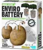 4M-Projects Enviro Battery Green Science Kit Science Engineering Kit #3644