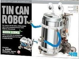 4M-Projects Tin Can Robot Green Science Kit Science Engineering Kit #3653