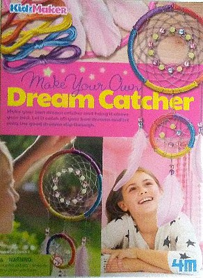 4M-Projects Glow-in-the-Dark Dreamcatcher Kit