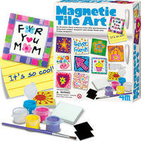4M-Projects Magnetic Tile Art Kit Magnet Kit #4563