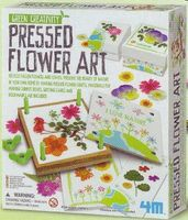 4M-Projects Pressed Flower Art Kit Activity Craft Kit #4565