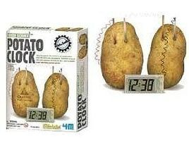 4M-Projects Potato Clock Green Science Kit Science Engineering Kit #4568
