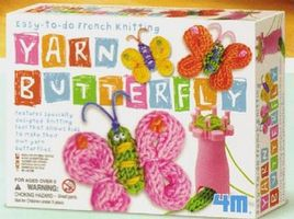 4M-Projects Easy-to-Do French Knitting Yarn Kit Fabric Craft and Activity #4613