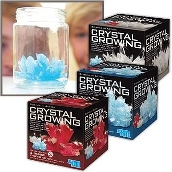 4M Project Kits Crystal Growing Kit -- Science Experiment Kit -- #4627