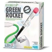 4M-Projects Green Rocket Green Science Kit Science Experiment Kit #4630