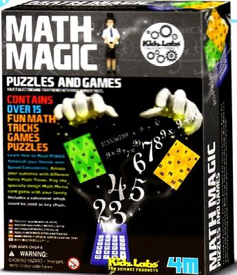 4M Project Kits Math Magic Puzzles & Games Set