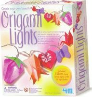 4M-Projects Create Your Own Origami Lights Kit Activity Craft Kit #4694