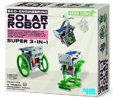 4M-Projects Eco-Engineering- Solar Robot Green Science Kit