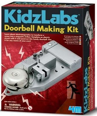 4M Project Kits Doorbell Making Kit -- Educational Science Kit -- #5553