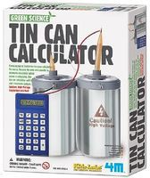 4M-Projects Tin Can Calculator Green Science Kit Science Engineering Kit #5579