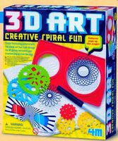 4M-Projects 3D Art Creative Spiral Fun Kit Activity Craft Kit #5598