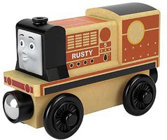 Fisher-Price Thomas Wood Engine Rusty