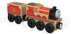 Fisher-Price Thomas Wood James the Red Engine w/Tender