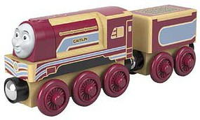 Fisher-Price Thomas Wood Engine Caitlin w/Tender
