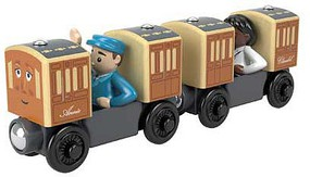 Fisher-Price Annie & Clarabel - Thomas & Friends(TM) Wood Brown