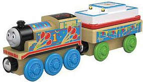 Fisher-Price Thomas Wood Birthday Thomas w/Cargo Cake