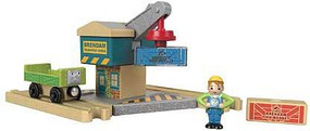 Fisher-Price Thomas Wood Spin & Lift Crane