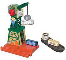 Fisher-Price Cranky Crane at the Docks Thomas & Friends(TM) Wood