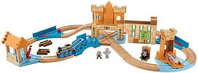 Fisher-Price T&F Wood Castle Tower Set