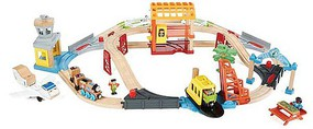 Fisher-Price T&F Wood Busy Island Set