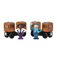 Fisher-Price Annie and Clarabel Thomas and Friends(TM) Wooden Railway