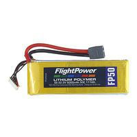 Flight-Power LiPo FP50 6S 22.2V 5000mAh 50C