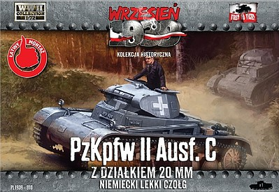 First-To-Fight 1/72 PzKpfw II Ausf C German Light Tank