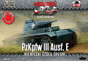First-To-Fight 1/72 WWII PzKpfw III Ausf E German Medium Tank