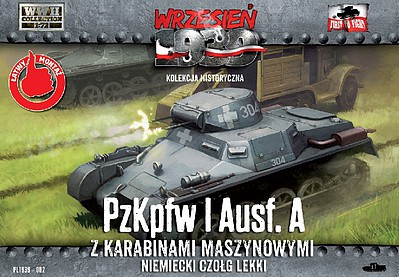 First-To-Fight 1/72 PzKpfw I Ausf A German Light Tank