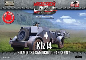 First-To-Fight 1/72 WWII Kfz14 German Armored Radio Car