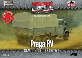 First-To-Fight 1/72 WWII Praga RV Truck w/Canvas-Type Cover
