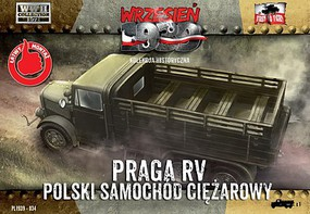 First-To-Fight 1/72 WWII Praga RV Troop Transporter in Polish Service