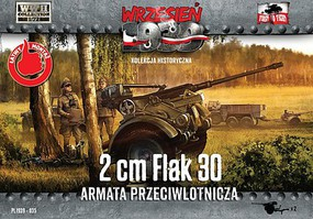 First-To-Fight 1/72 WWII 2cm Flak 30 Gun (2)