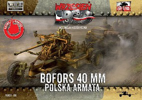 First-To-Fight 1/72 WWII Bofors 40mm Anti-Aircraft Gun