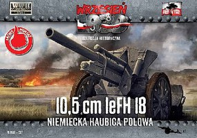 First-To-Fight 1/72 10,5cm leFH18 German Field Howitzer