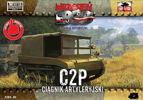 First-To-Fight 1/72 C2P Polish Light Artillery Tractor
